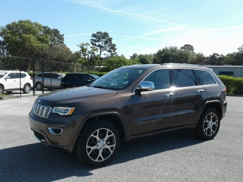 Walnut Brown Metallic 2019 Jeep Grand Cherokee Overland 4x4