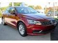 Volkswagen Passat S Sedan Fortana Red Metallic photo #2