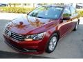 Volkswagen Passat S Sedan Fortana Red Metallic photo #4