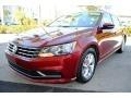 Volkswagen Passat S Sedan Fortana Red Metallic photo #5