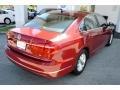 Volkswagen Passat S Sedan Fortana Red Metallic photo #9