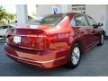 Volkswagen Passat S Sedan Fortana Red Metallic photo #10