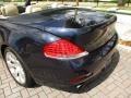BMW 6 Series 650i Convertible Monaco Blue Metallic photo #20