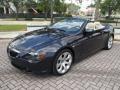 BMW 6 Series 650i Convertible Monaco Blue Metallic photo #22