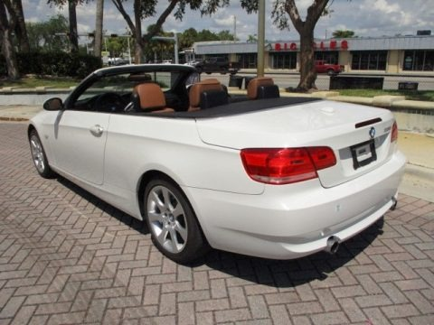 Alpine White 2008 BMW 3 Series 335i Convertible