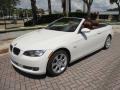 BMW 3 Series 335i Convertible Alpine White photo #5