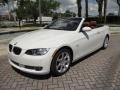 BMW 3 Series 335i Convertible Alpine White photo #25