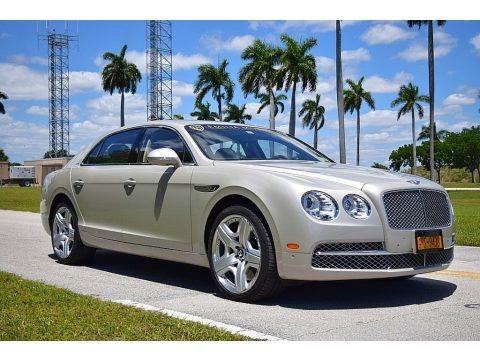 Porcelain Metallic 2014 Bentley Flying Spur W12