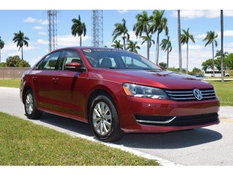 Fortana Red Metallic 2015 Volkswagen Passat Wolfsburg Edition Sedan