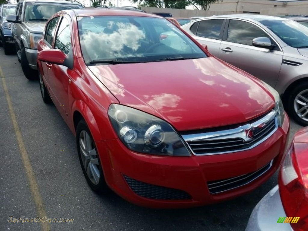 Salsa Red / Charcoal Saturn Astra XE Sedan