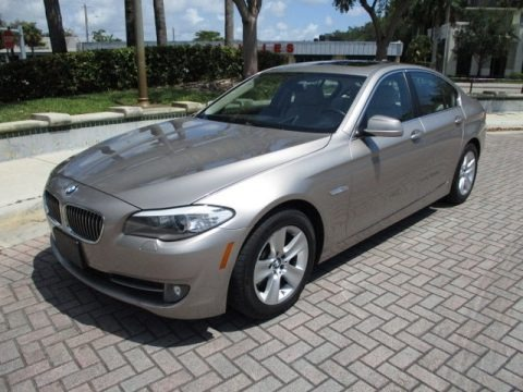 Milano Beige Metallic 2013 BMW 5 Series 528i Sedan