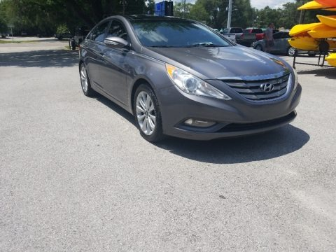 Harbor Gray Metallic 2012 Hyundai Sonata Limited 2.0T
