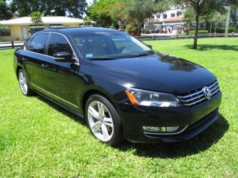 Black 2013 Volkswagen Passat TDI SE