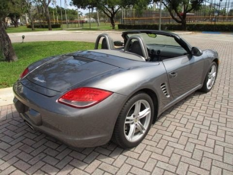 Meteor Grey Metallic 2011 Porsche Boxster