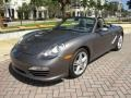 Porsche Boxster  Meteor Grey Metallic photo #9