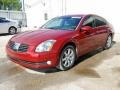 Nissan Maxima 3.5 SL Red Opulence Metallic photo #2