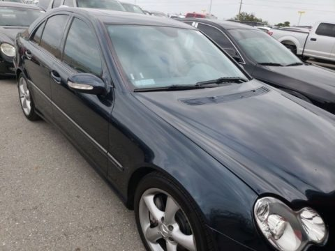 Orion Blue Metallic 2005 Mercedes-Benz C 230 Kompressor Sedan