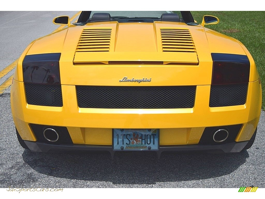 2006 Gallardo Spyder E-Gear - Giallo Midas / Nero Perseus photo #16