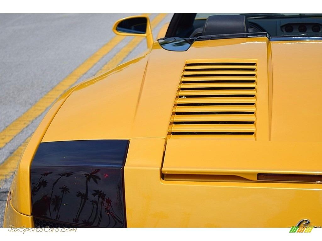 2006 Gallardo Spyder E-Gear - Giallo Midas / Nero Perseus photo #17