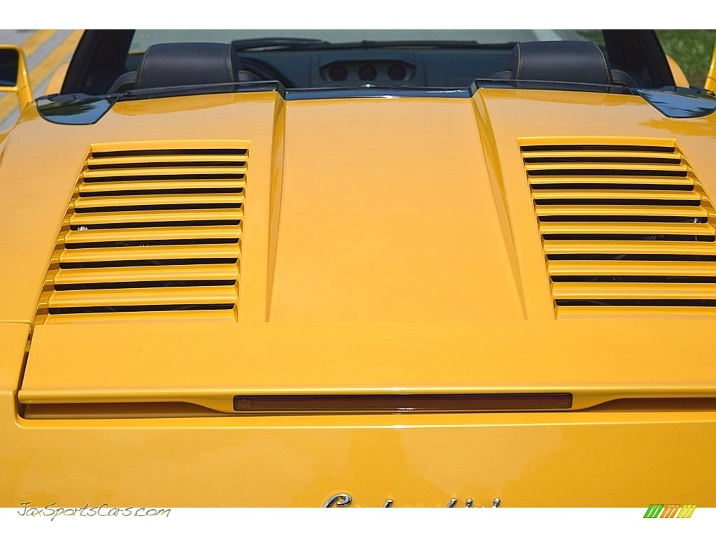 2006 Gallardo Spyder E-Gear - Giallo Midas / Nero Perseus photo #18