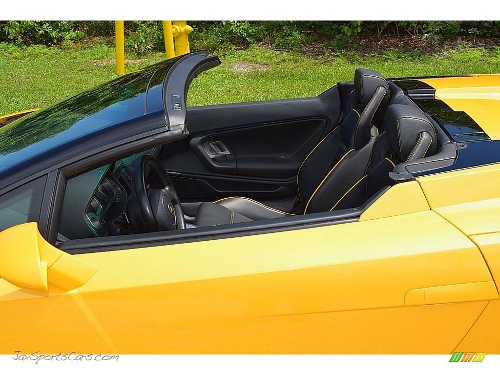 2006 Gallardo Spyder E-Gear - Giallo Midas / Nero Perseus photo #24