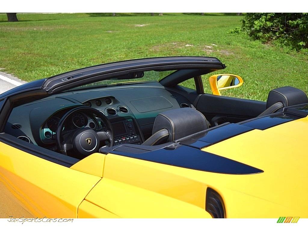2006 Gallardo Spyder E-Gear - Giallo Midas / Nero Perseus photo #25
