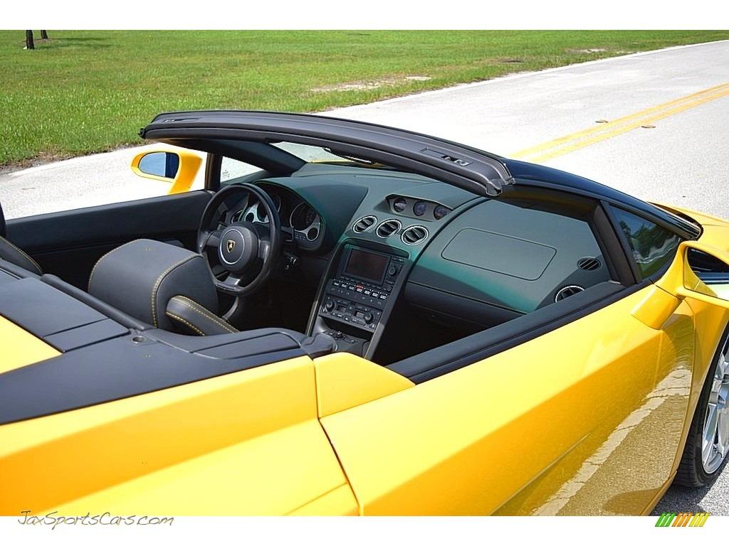 2006 Gallardo Spyder E-Gear - Giallo Midas / Nero Perseus photo #26