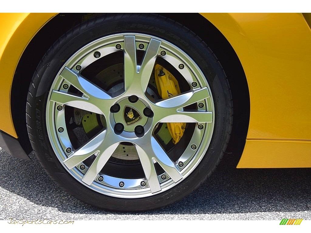 2006 Gallardo Spyder E-Gear - Giallo Midas / Nero Perseus photo #27