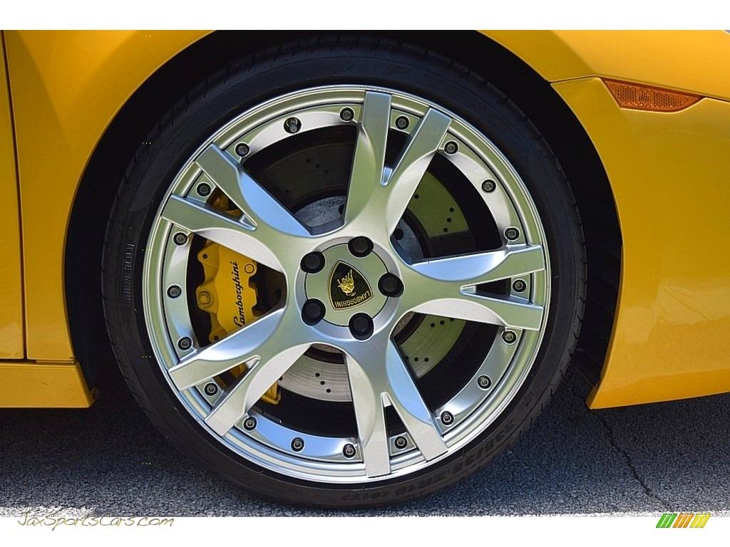 2006 Gallardo Spyder E-Gear - Giallo Midas / Nero Perseus photo #29