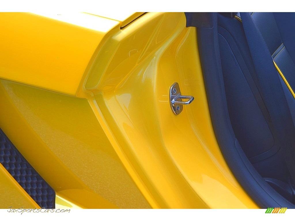 2006 Gallardo Spyder E-Gear - Giallo Midas / Nero Perseus photo #36