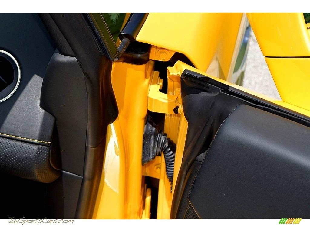 2006 Gallardo Spyder E-Gear - Giallo Midas / Nero Perseus photo #39