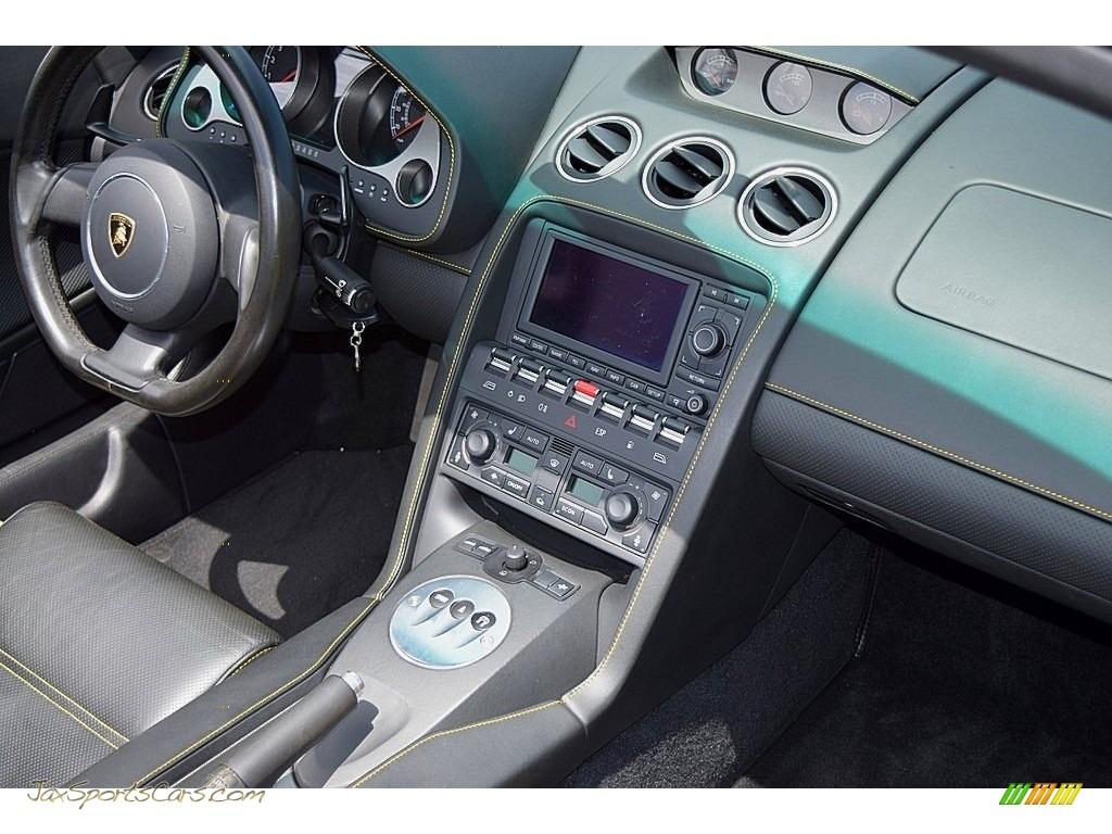 2006 Gallardo Spyder E-Gear - Giallo Midas / Nero Perseus photo #41