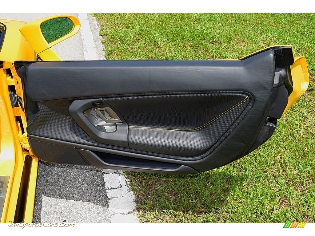 2006 Gallardo Spyder E-Gear - Giallo Midas / Nero Perseus photo #45