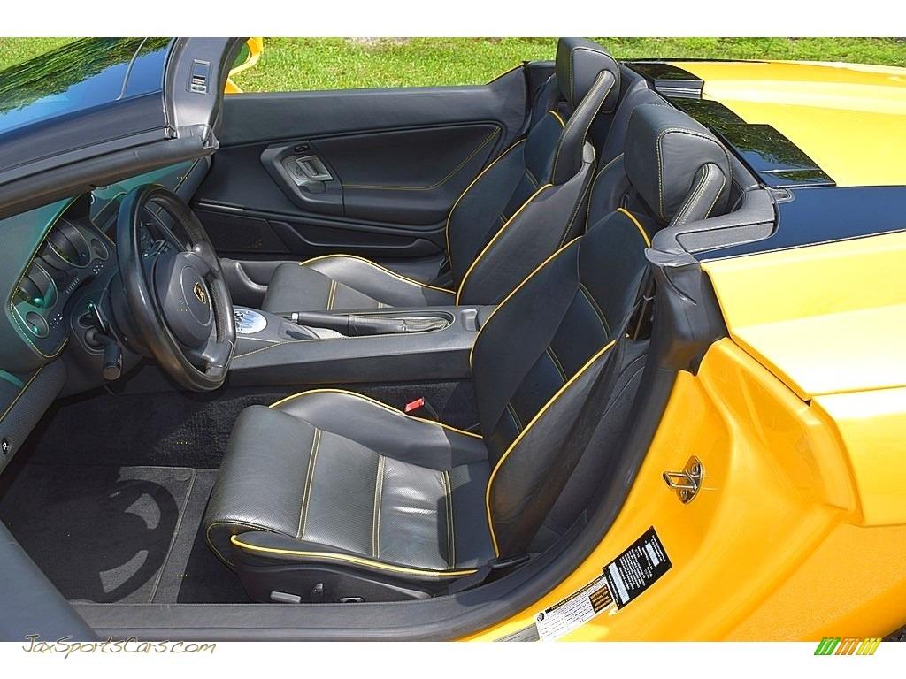 2006 Gallardo Spyder E-Gear - Giallo Midas / Nero Perseus photo #47