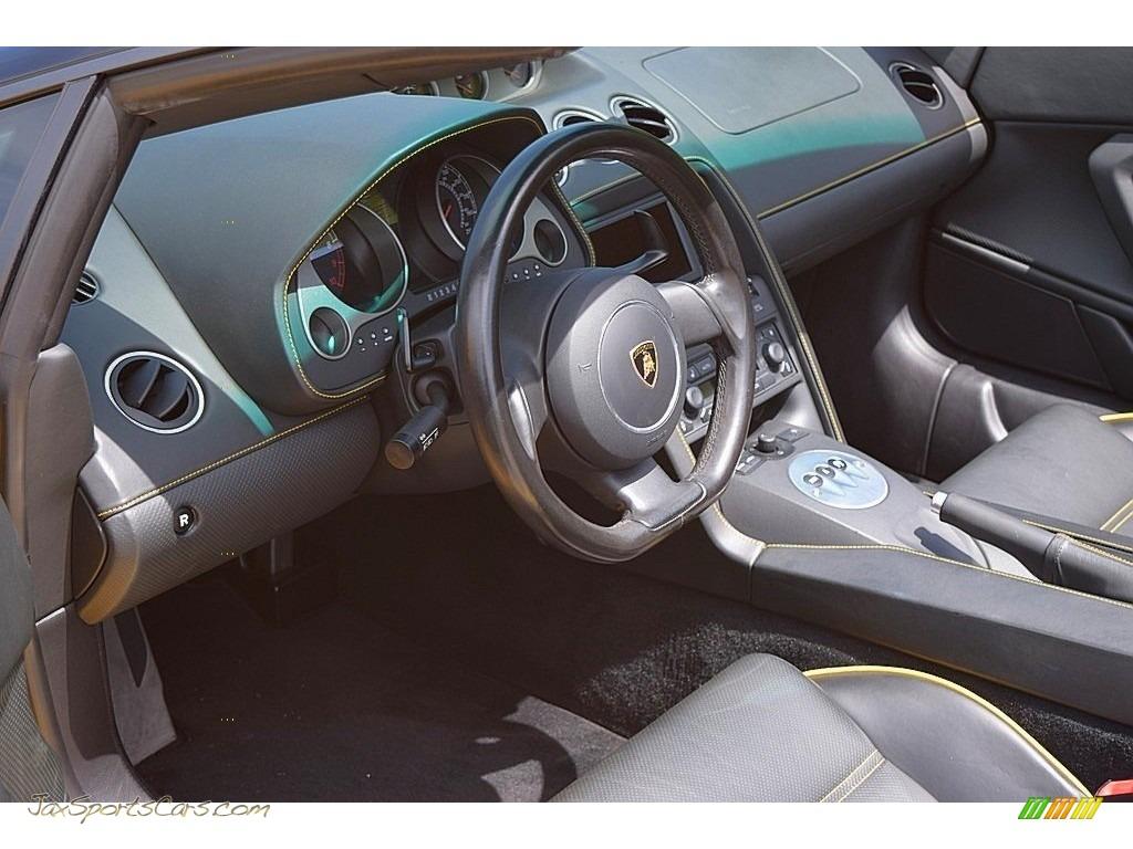 2006 Gallardo Spyder E-Gear - Giallo Midas / Nero Perseus photo #48