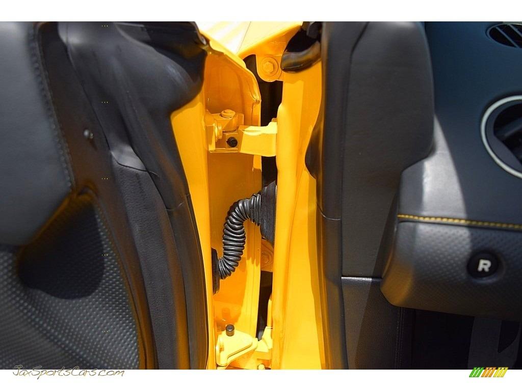 2006 Gallardo Spyder E-Gear - Giallo Midas / Nero Perseus photo #54