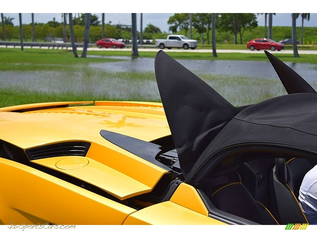 2006 Gallardo Spyder E-Gear - Giallo Midas / Nero Perseus photo #57