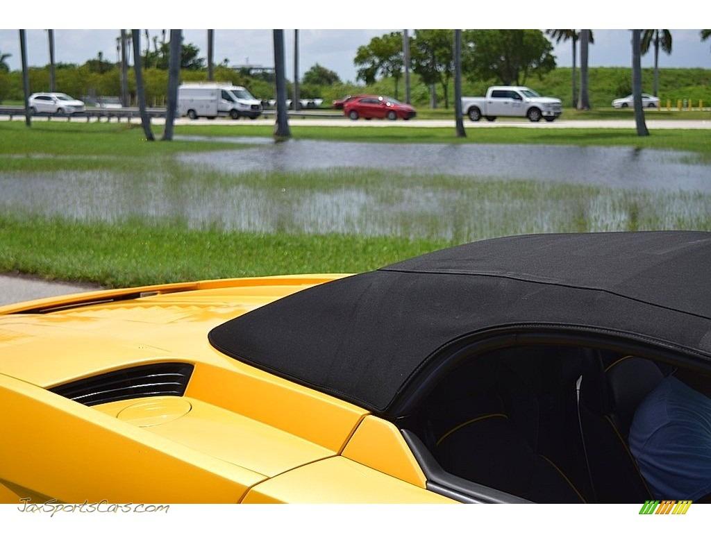 2006 Gallardo Spyder E-Gear - Giallo Midas / Nero Perseus photo #58