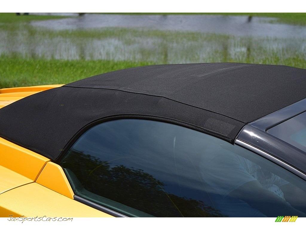 2006 Gallardo Spyder E-Gear - Giallo Midas / Nero Perseus photo #59