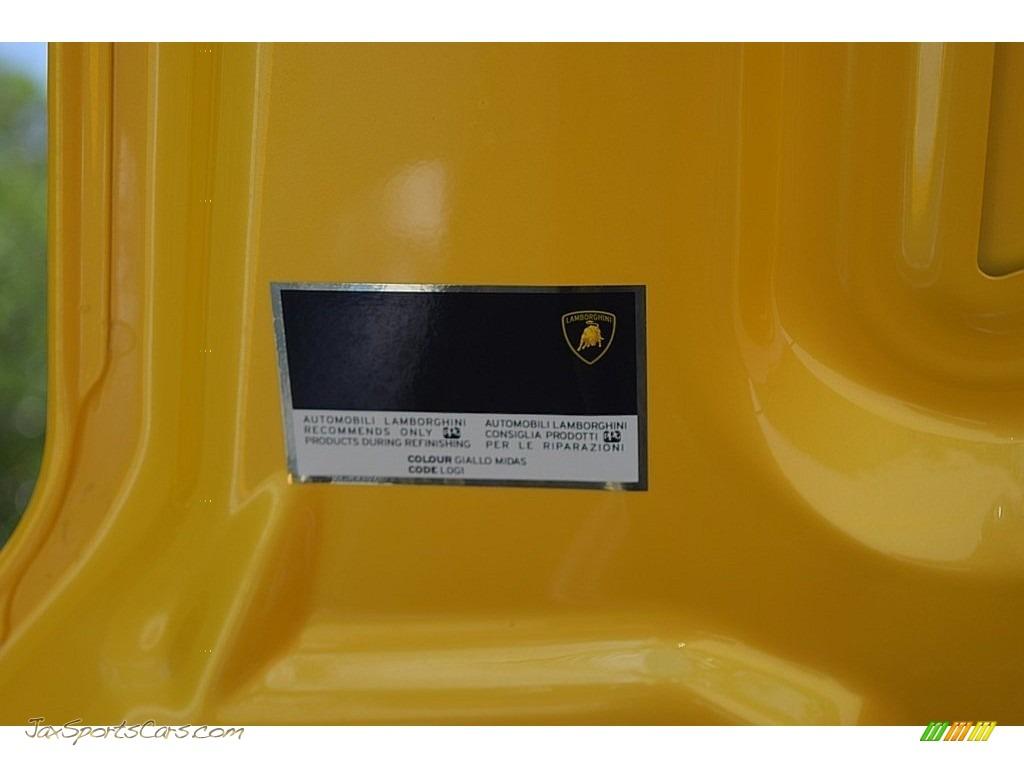 2006 Gallardo Spyder E-Gear - Giallo Midas / Nero Perseus photo #61