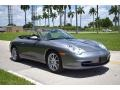 Porsche 911 Carrera Cabriolet Seal Grey Metallic photo #27