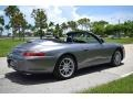 Porsche 911 Carrera Cabriolet Seal Grey Metallic photo #29