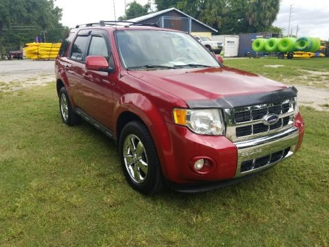 Sangria Red Metallic 2010 Ford Escape Limited V6