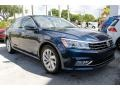 Volkswagen Passat SE Tourmaline Blue Metallic photo #2
