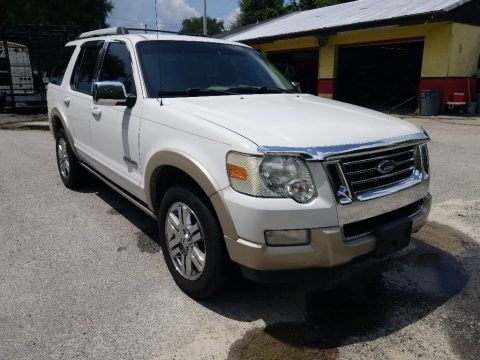 Oxford White 2007 Ford Explorer Eddie Bauer