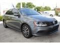 Volkswagen Jetta SE Platinum Gray Metallic photo #2