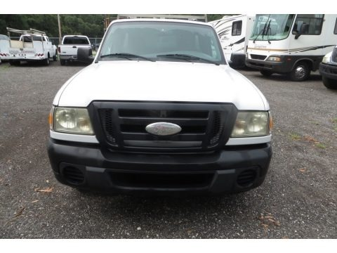 Oxford White 2008 Ford Ranger XL Regular Cab