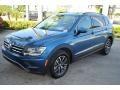 Volkswagen Tiguan SE Stone Blue Metallic photo #4