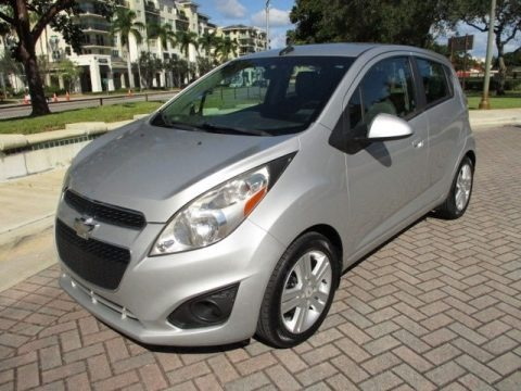 Silver Ice 2013 Chevrolet Spark LT