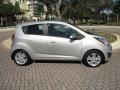 Chevrolet Spark LT Silver Ice photo #11